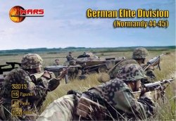 Mars 1/32 WWII Normandy 1944-45 German Elite Division Soldiers Set 32013
