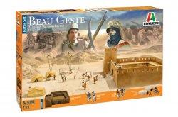 Italeri 1/72 Beau Gest: Algerian Touareg Revolt 1877-1912 Diorama Set 6183 NEW!