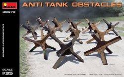 Miniart 1/35th Scale Anti-Tank Obstacles Battlefield Diorama Set 35579