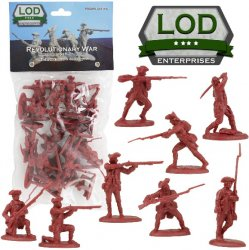 LOD 1/32 Revolutionary War British Regular Army Playset