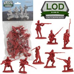 LOD 1/32 Revolutionary War British Light Infantry Playset