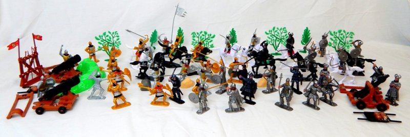 Image 0 of TSD Medieval Barbarian Invasion Limited Edition Playset