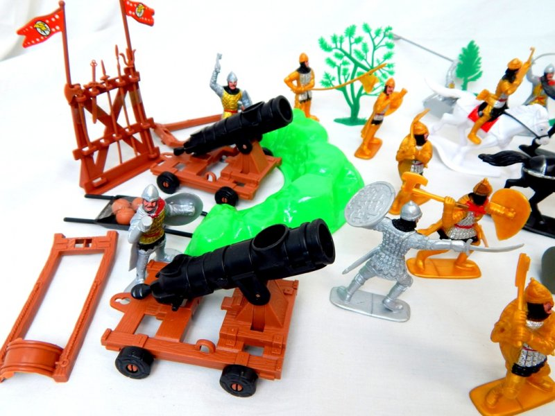 Image 1 of TSD Medieval Barbarian Invasion Limited Edition Playset