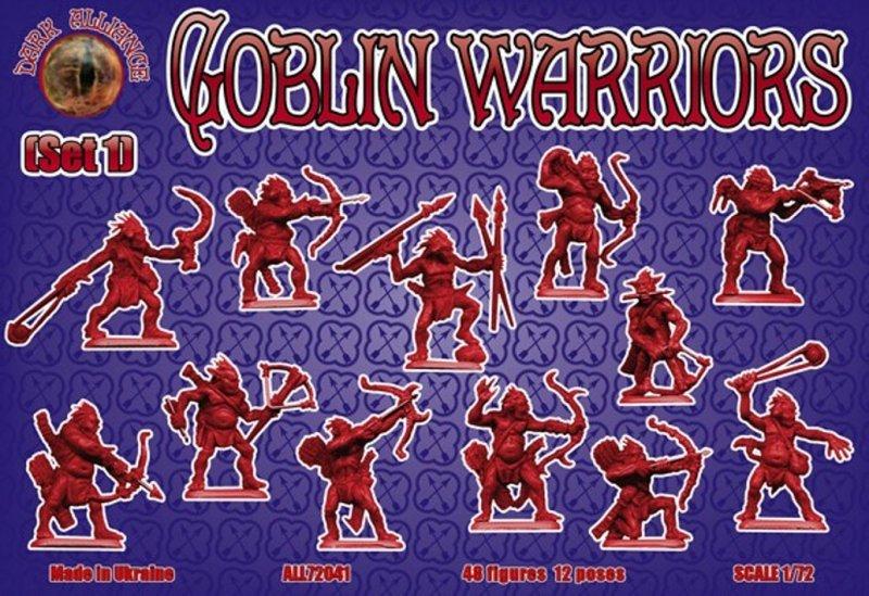 Image 0 of Dark Alliance 1/72 Fantasy Plastic Goblin Warriors Set 1 Figures 72041 NEW!