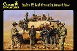 Caesar Miniatures 1/72 Modern U.S. Tank Crews & Armored Force Set H103