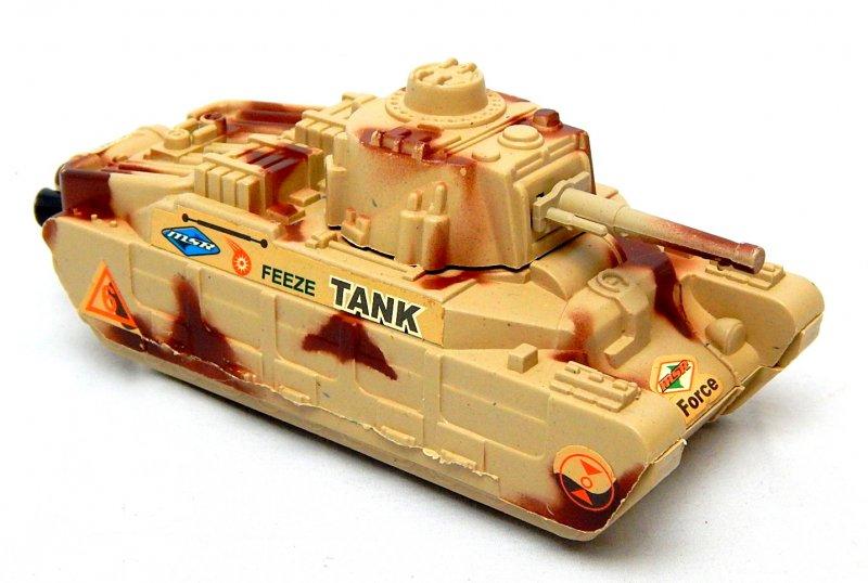 Image 0 of World War II British Matilda Type Tan Plastic Tank
