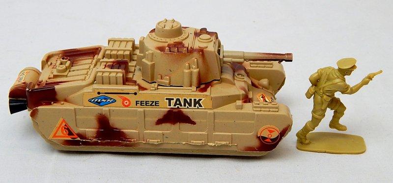Image 2 of World War II British Matilda Type Tan Plastic Tank