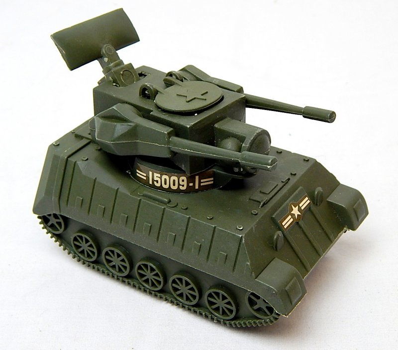 Image 0 of U.S. Army Modern M247 Type Anti Aircraft Missile Plastic Tank