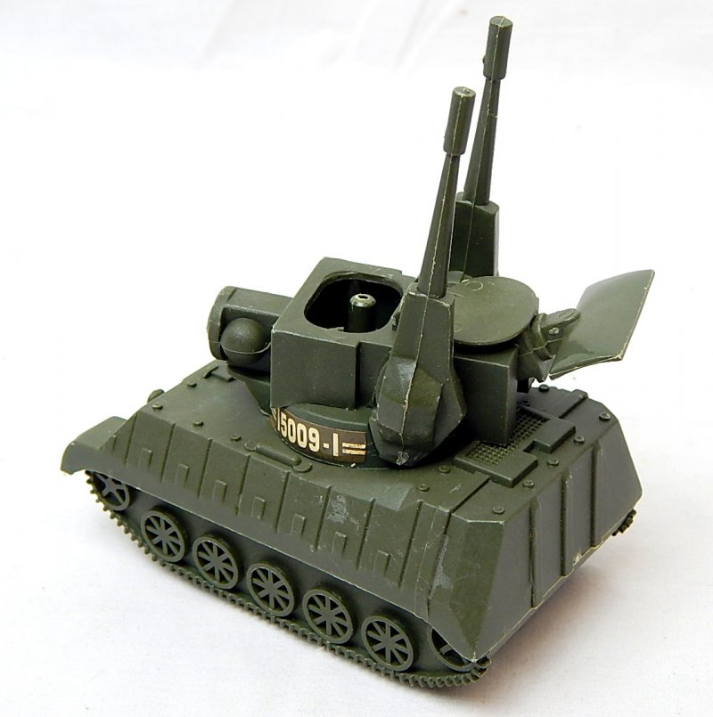 Image 1 of U.S. Army Modern M247 Type Anti Aircraft Missile Plastic Tank