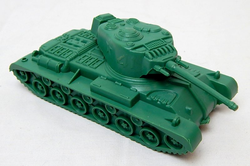 Image 0 of Marx Recast Battleground U.S. Type 41 Main Battle Tank
