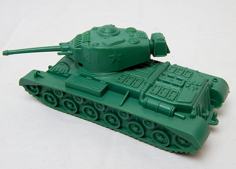 Image 1 of Marx Recast Battleground U.S. Type 41 Main Battle Tank