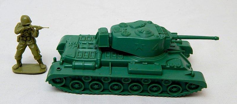 Image 2 of Marx Recast Battleground U.S. Type 41 Main Battle Tank