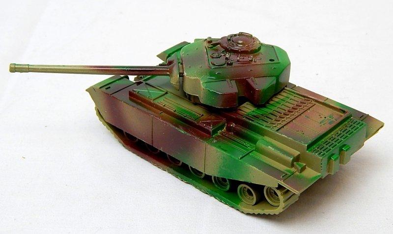 Image 1 of Modern British Centurion Style Green Camo Plastic Tank