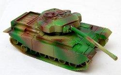 Modern British Centurion Style Green Camo Plastic Tank