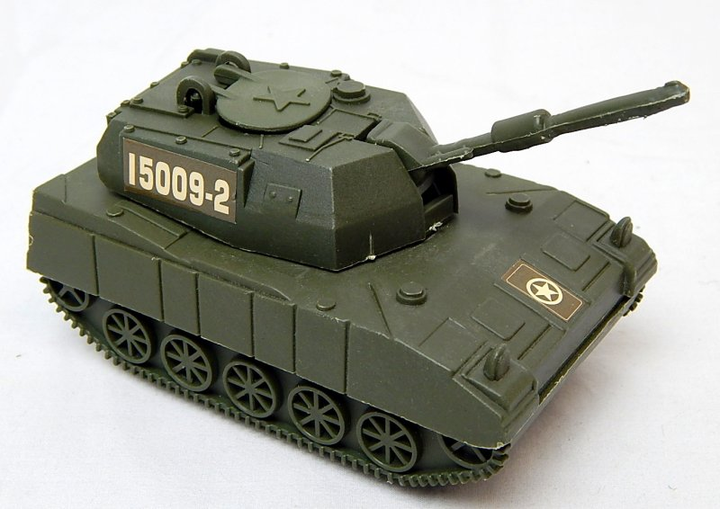 Image 0 of Modern U.S. Army M109 Howitzer Style Plastic Artillery Tank