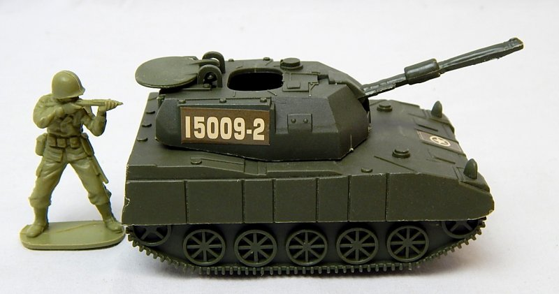 Image 2 of Modern U.S. Army M109 Howitzer Style Plastic Artillery Tank