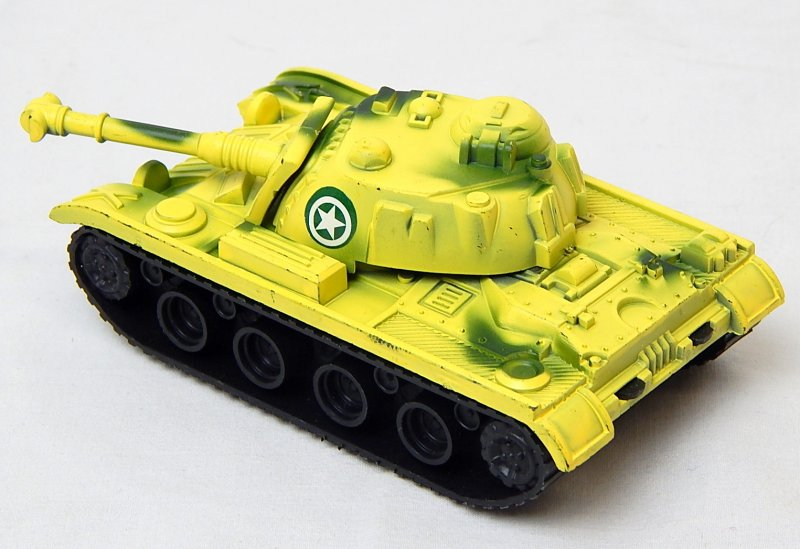Image 1 of M48/60 U.S. Army Style Desert Camo '625' Plastic Tank