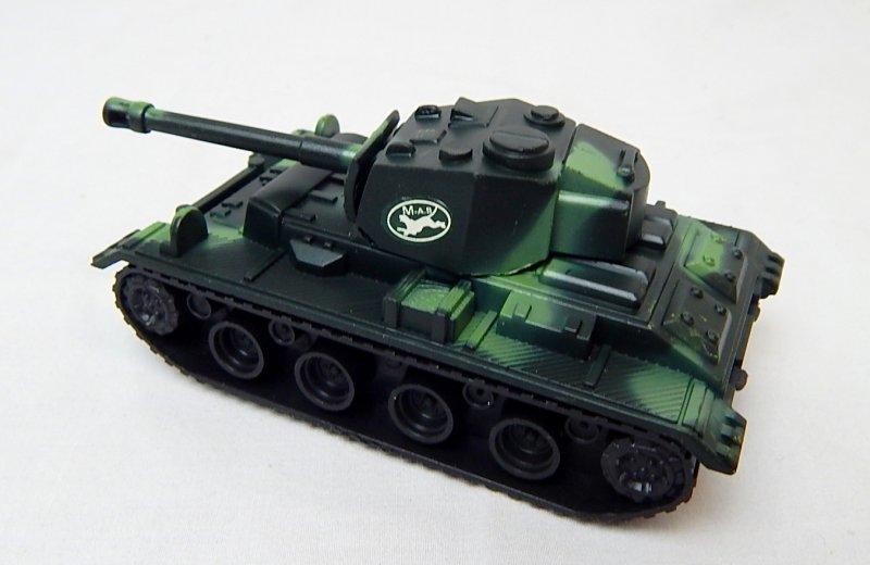 Image 1 of German Panzer III Style Green Camo '625' Plastic Tank