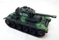 German Panzer III Style Green Camo '625' Plastic Tank