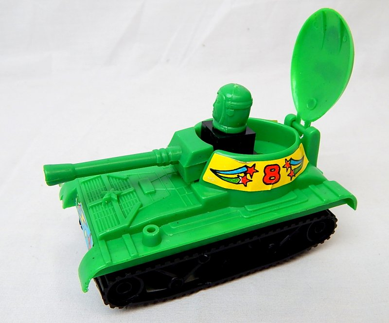 Image 1 of Self Propelled Assault Gun Green Plastic 'Space' Tank