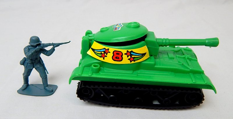Image 2 of Self Propelled Assault Gun Green Plastic 'Space' Tank