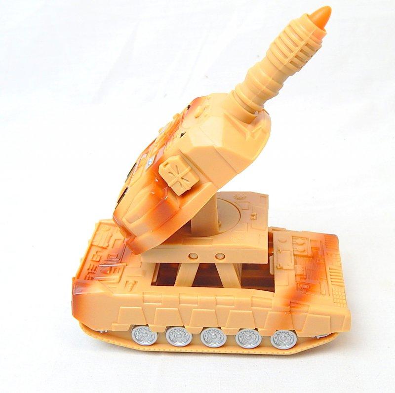 Image 2 of U.S. Army 155mm Self Propelled Gun Transforming Plastic Tank