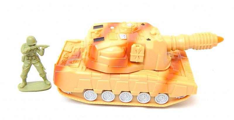 Image 3 of U.S. Army 155mm Self Propelled Gun Transforming Plastic Tank