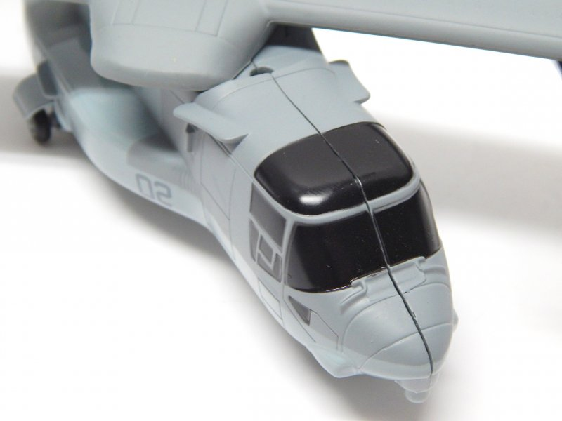 Image 3 of New Ray 1/72nd Scale Osprey Transport Aircraft Diecast Metal