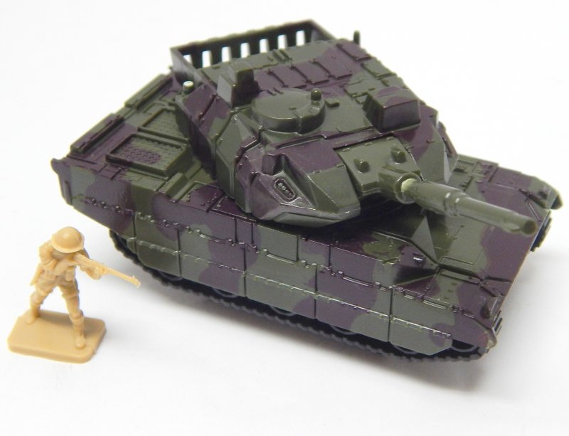 Image 0 of Hard Plastic HO 1/72 Scale Camo Abrams Modern Tank