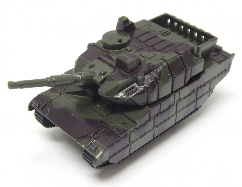 Image 1 of Hard Plastic HO 1/72 Scale Camo Abrams Modern Tank