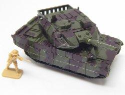 Hard Plastic HO 1/72 Scale Camo Abrams Modern Tank