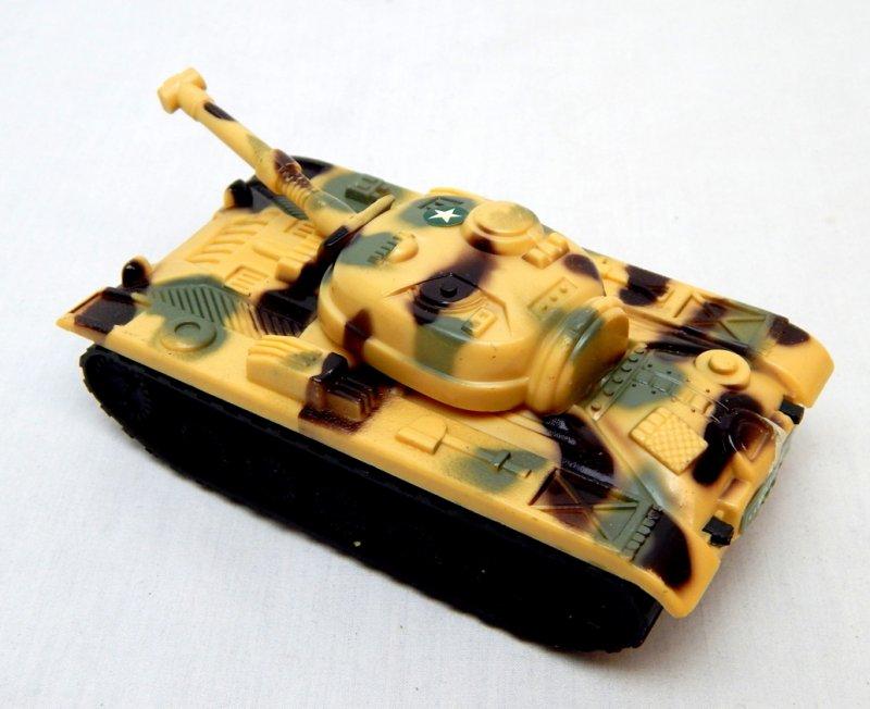 Image 1 of Russian Style T-54 Desert Camo Plastic Tank