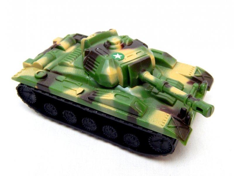 Image 0 of U.S. Army Chaffee Style Plastic Light Tank