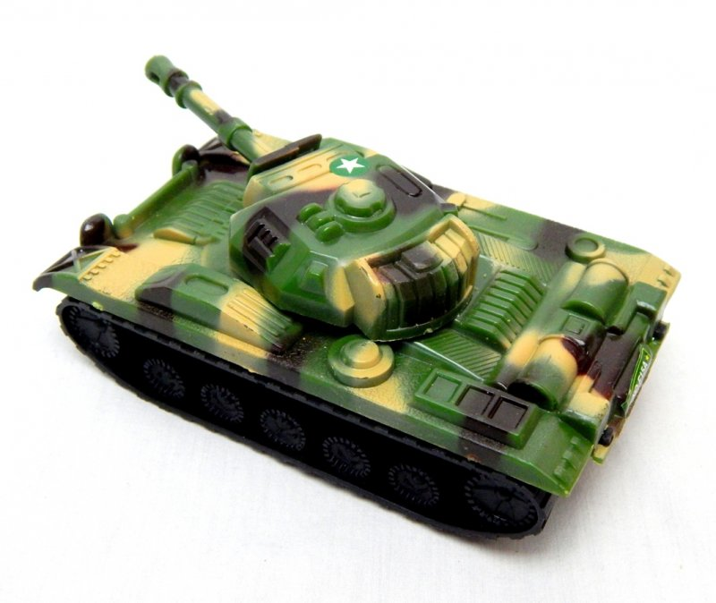 Image 1 of U.S. Army Chaffee Style Plastic Light Tank
