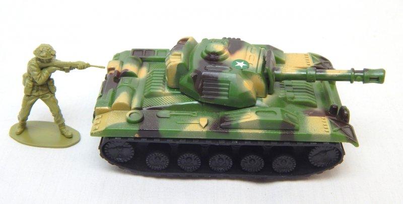 Image 2 of U.S. Army Chaffee Style Plastic Light Tank