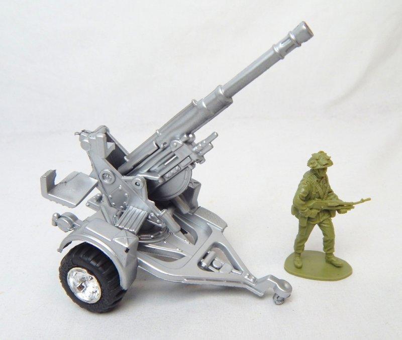 Image 0 of Modern Style Silver Anti Aircraft Artillery Gun