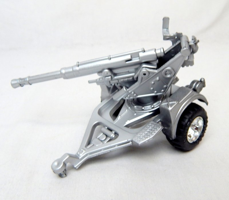 Image 1 of Modern Style Silver Anti Aircraft Artillery Gun