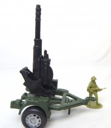 Heavy Duty Anti Aircraft Black Barrel Artillery Gun