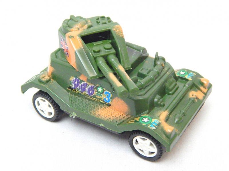 Image 0 of WWII Modern Twin Guns Armored Wheeled Car 946