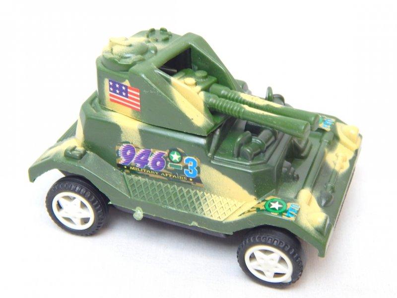 Image 3 of WWII Modern Twin Guns Armored Wheeled Car 946