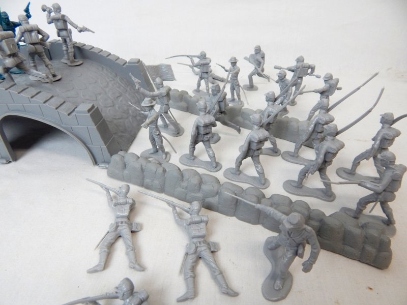 Image 1 of American Civil War Battle Of Stone Bridge Playset