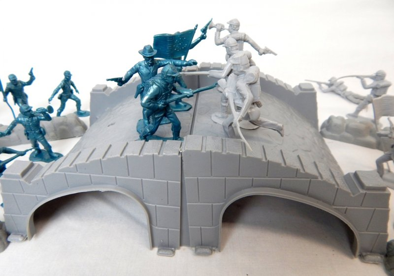 Image 3 of American Civil War Battle Of Stone Bridge Playset