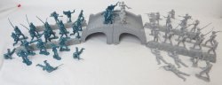 American Civil War Battle Of Stone Bridge Playset