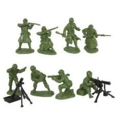 TSSD 1/32 WWII US Infantry Fire Support Figure Set 5
