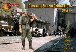 Mars 1/32 WWII German Panzergrenadiers Soldiers Set 32018