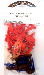 Armies In Plastic Boxer Rebellion #1 Set 5758 Marines Boxers
