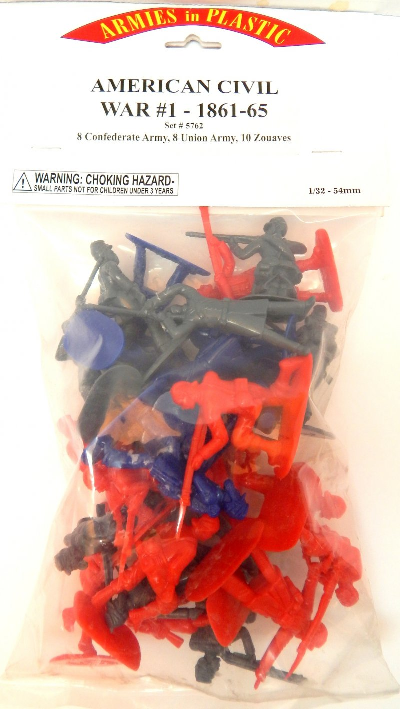 Image 0 of Armies In Plastic American Civil War #1 Set 5762 Soldiers Set