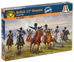 Italeri 1/72 British 11th Hussars Soldiers Crimean Wars Set 6188