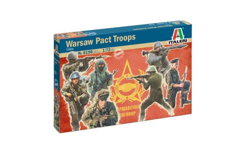 Image 0 of Italeri 1/72 Warsaw Pact Troops 1980's Soldiers Set 6190