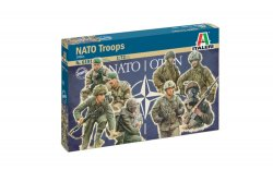 Italeri 1/72 NATO Troops 1980's Soldiers Set 6191